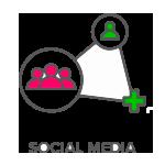 Vectorized social media