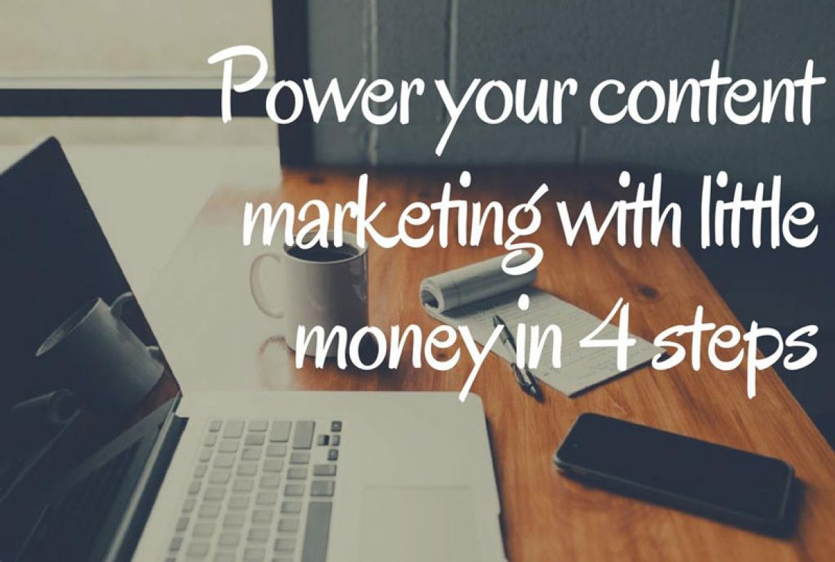 Content Marketing with little budget