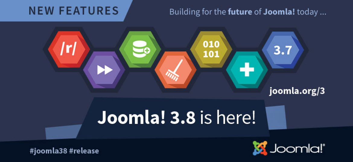Joomla 3.8 could be the key for the growth of your business